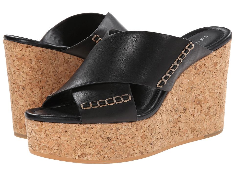Calvin Klein Jeans Adeli (Black Leather) Women