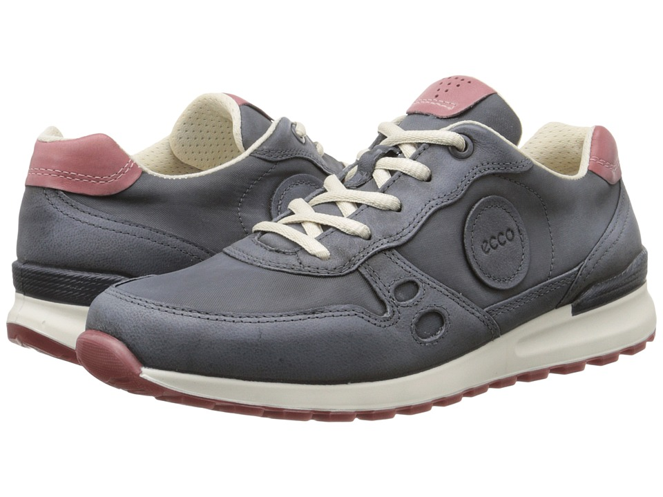 ECCO - CS14 Retro Sneaker (Dark Shadow/Petal) Women's Lace up casual Shoes