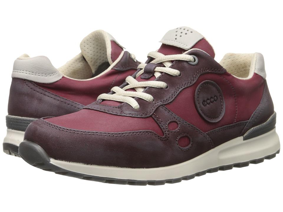 ECCO - CS14 Retro Sneaker (Bordeaux/Gravel) Women