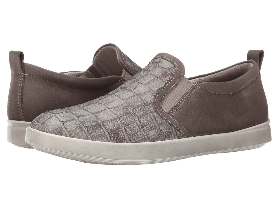 ECCO - Aimee Casual Slip-On (Moon Rock/Moon Rock) Women