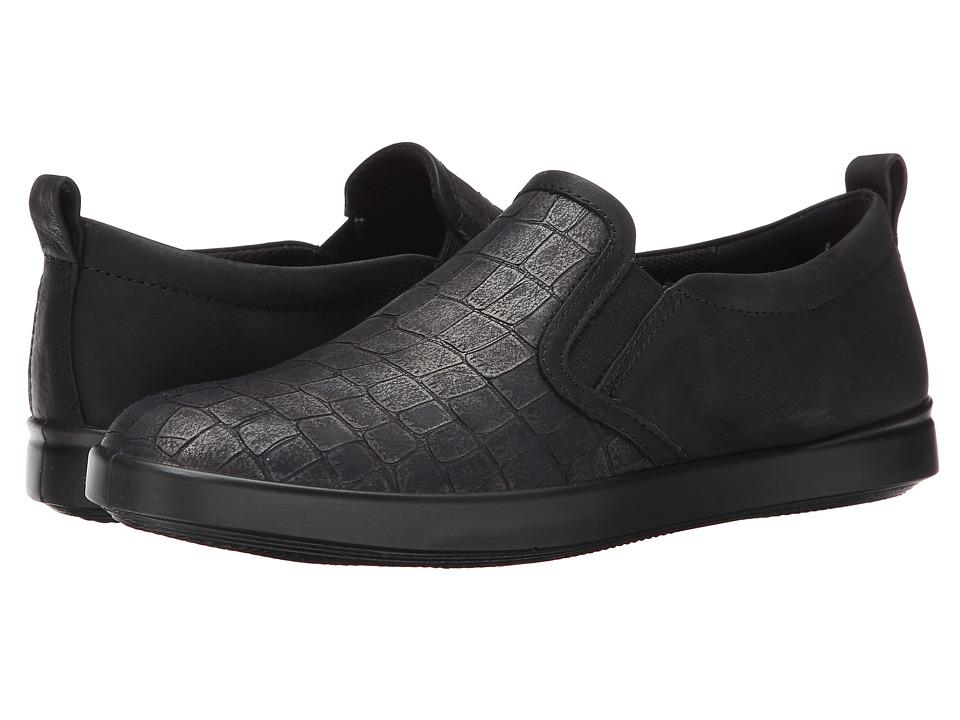 ECCO - Aimee Casual Slip-On (Black/Black) Women's Slip on Shoes