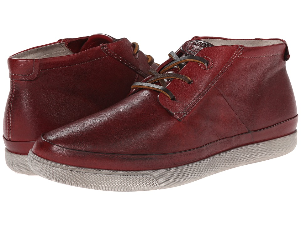 ECCO - Damara Tie Bootie (Chili Red) Women's Shoes