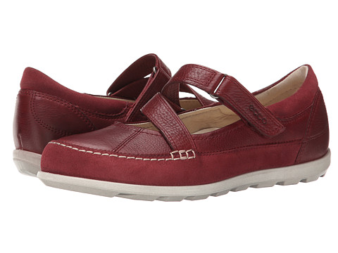 ECCO - Cayla Mary Jane (Port) Women's Slip on Shoes