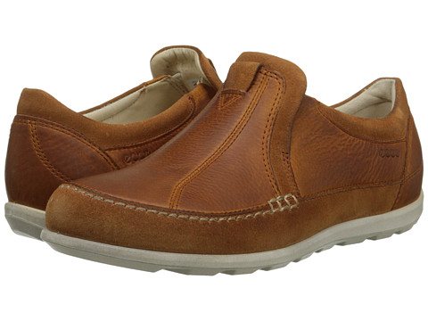 ECCO - Cayla Slip On (Amber/Amber) Women