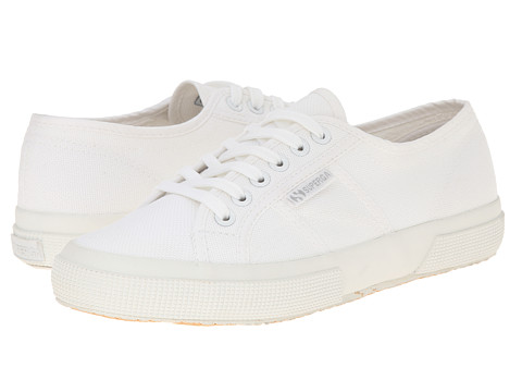 Superga - 2750 Cotu Classic (Total White) Lace up casual Shoes