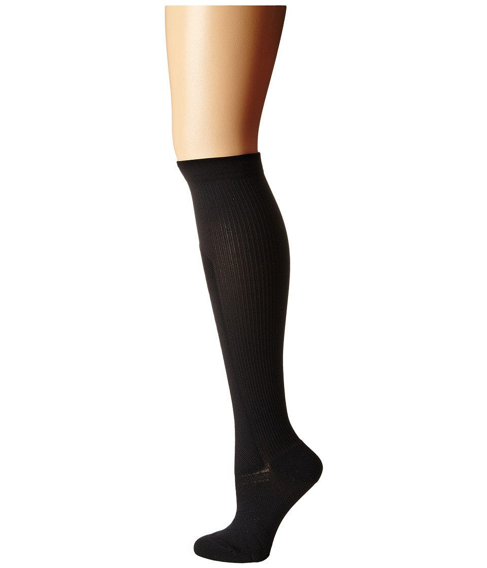 Nike - Elite High Intensity Knee High (Black/Black/White) Women's Knee High Socks Shoes