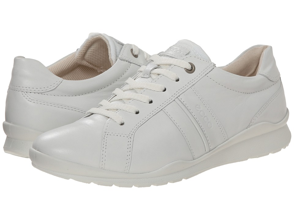 ECCO - Mobile III Casual Sneaker (White) Women's Lace up casual Shoes