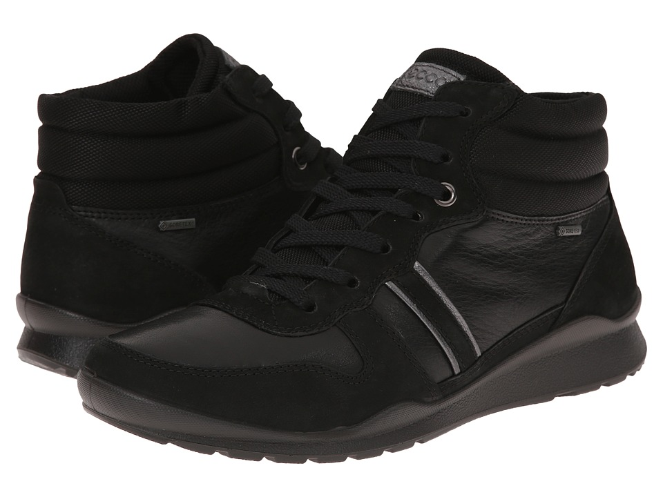 ECCO - Mobile III GTX Boot (Black/Black/Dark Shadow Metallic) Women