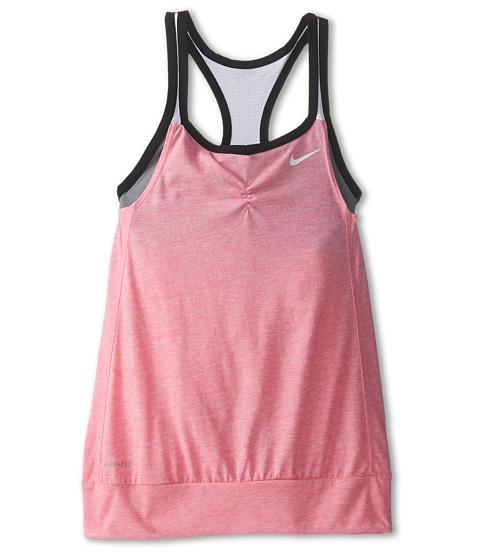 Nike Kids - Dri-FIT Cool 2-1 Cami (Little Kids/Big Kids) (Pinksicle/White/Cool Grey/White) Girl