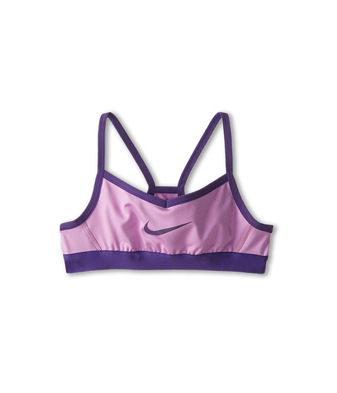 Nike Kids - Victory Swoosh Bra (Little Kids/Big Kids) (Violet Shock/Court Purple/Court Purple) Girl