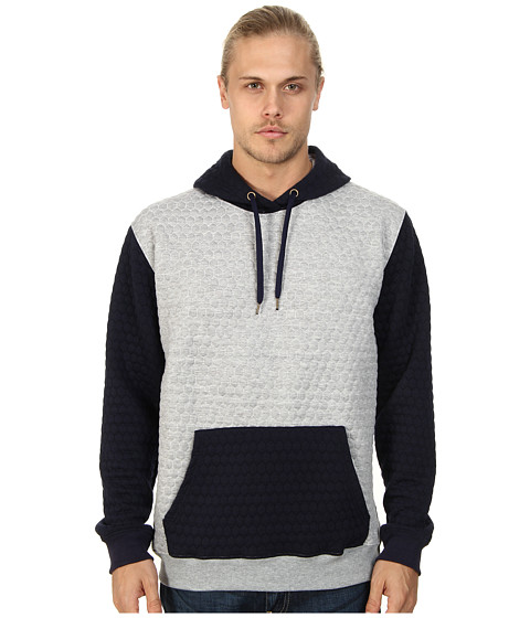 Sovereign Code - Magnus Hooded Sweatshirt (Navy Grey Heather) Men's Sweatshirt