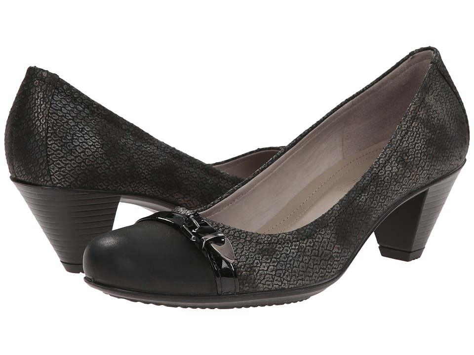 ECCO - Touch 50 Pump (Black/Black) High Heels