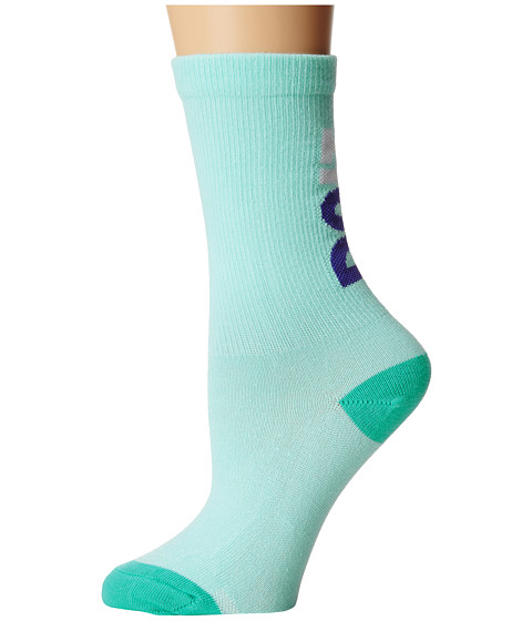 Nike - Classic Just Do It (Artisan Teal/Persian Violet/White) Crew Cut Socks Shoes