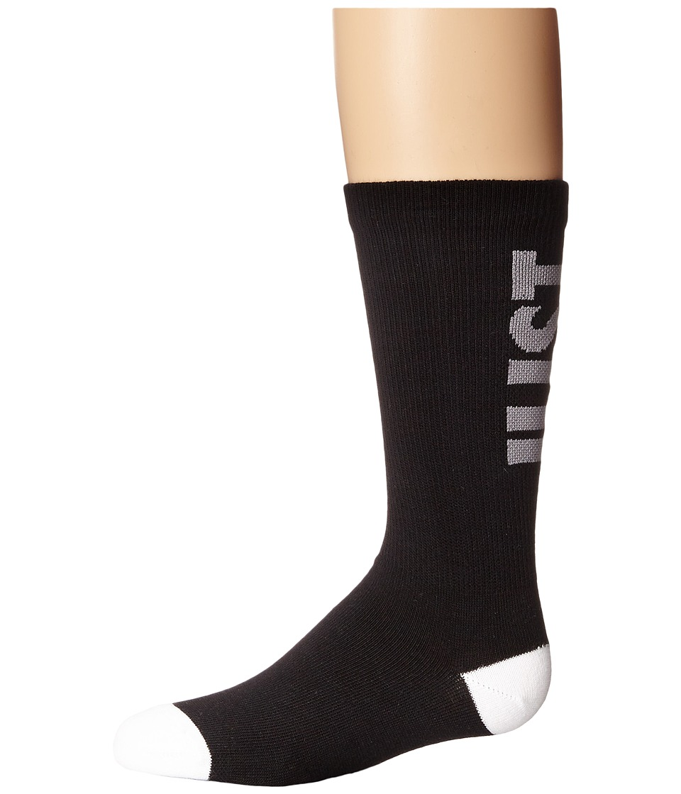 Nike - Classic Just Do It (Black/Cool Grey/White) Crew Cut Socks Shoes