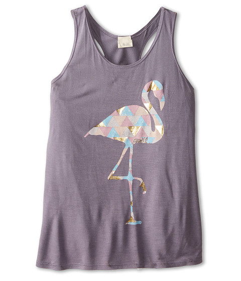 O'Neill Kids - Flamingo A GoGo Tank Top (Big Kids) (Grey) Girl's Sleeveless