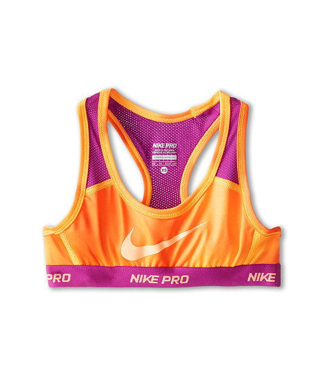 Nike Kids - YA Hypercool AOP Bra (Little Kids/Big Kids) (Bright Citrus/Bold Berry/Sunset Glow) Girl's Bra