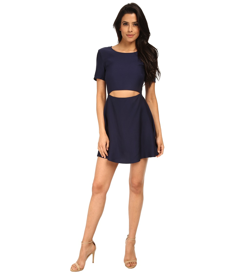 StyleStalker - Maya Circle Dress (Navy) Women's Dress