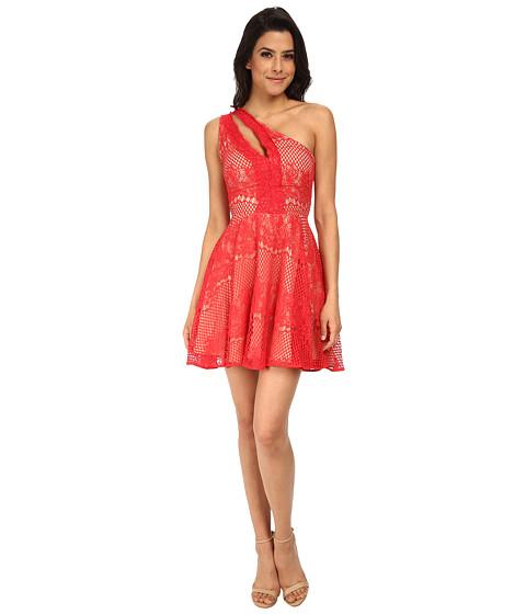 StyleStalker - Elliot Circle Dress (Rose Red) Women's Dress