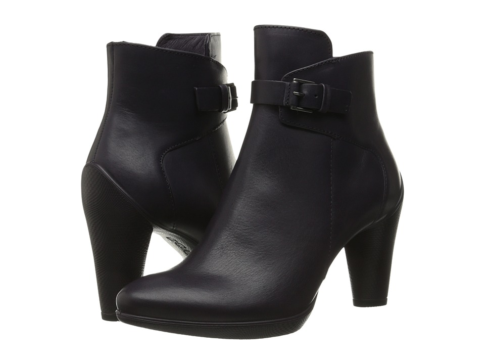 ECCO - Sculptured 75 Mid Boot (Night Shade) Women's Boots
