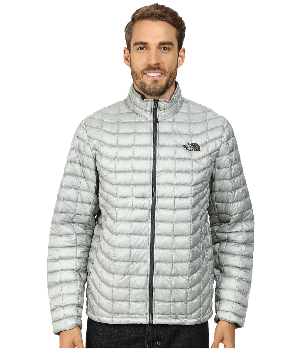 The North Face - ThermoBall Full Zip Jacket (High Rise Grey/Asphalt Grey) Men's Coat