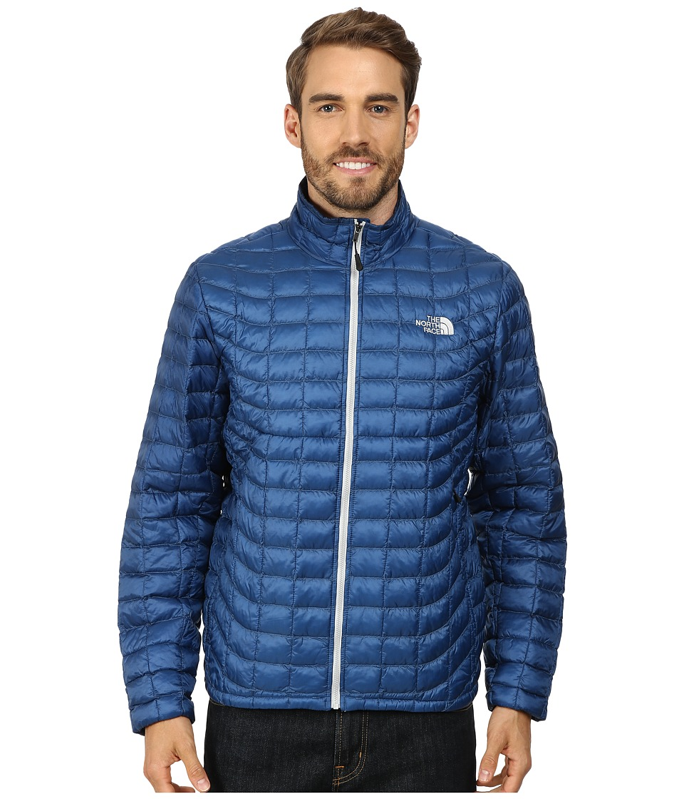 The North Face - ThermoBall Full Zip Jacket (Dish Blue) Men's Coat