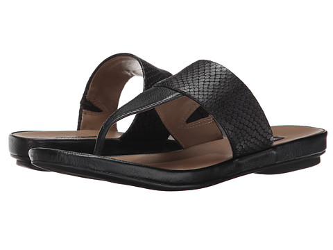 ECCO - Tabora 15 Strap Thong (Black/Black) Women's Sandals