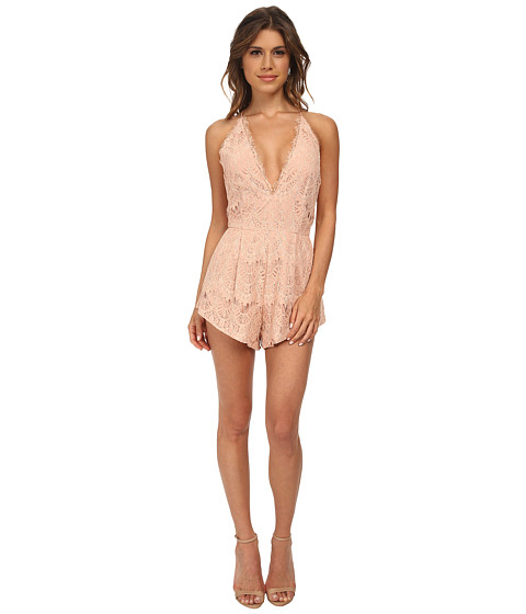 StyleStalker - Mermaid Romper (Nude) Women's Jumpsuit & Rompers One Piece