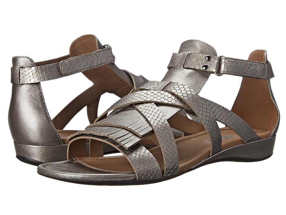 ECCO - Bouillion Sandal II Gladiator (Warm Grey Metallic/Warm Grey Metallic) Women
