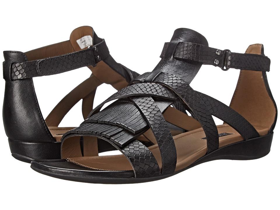 ECCO - Bouillion Sandal II Gladiator (Black/Black) Women's Sandals