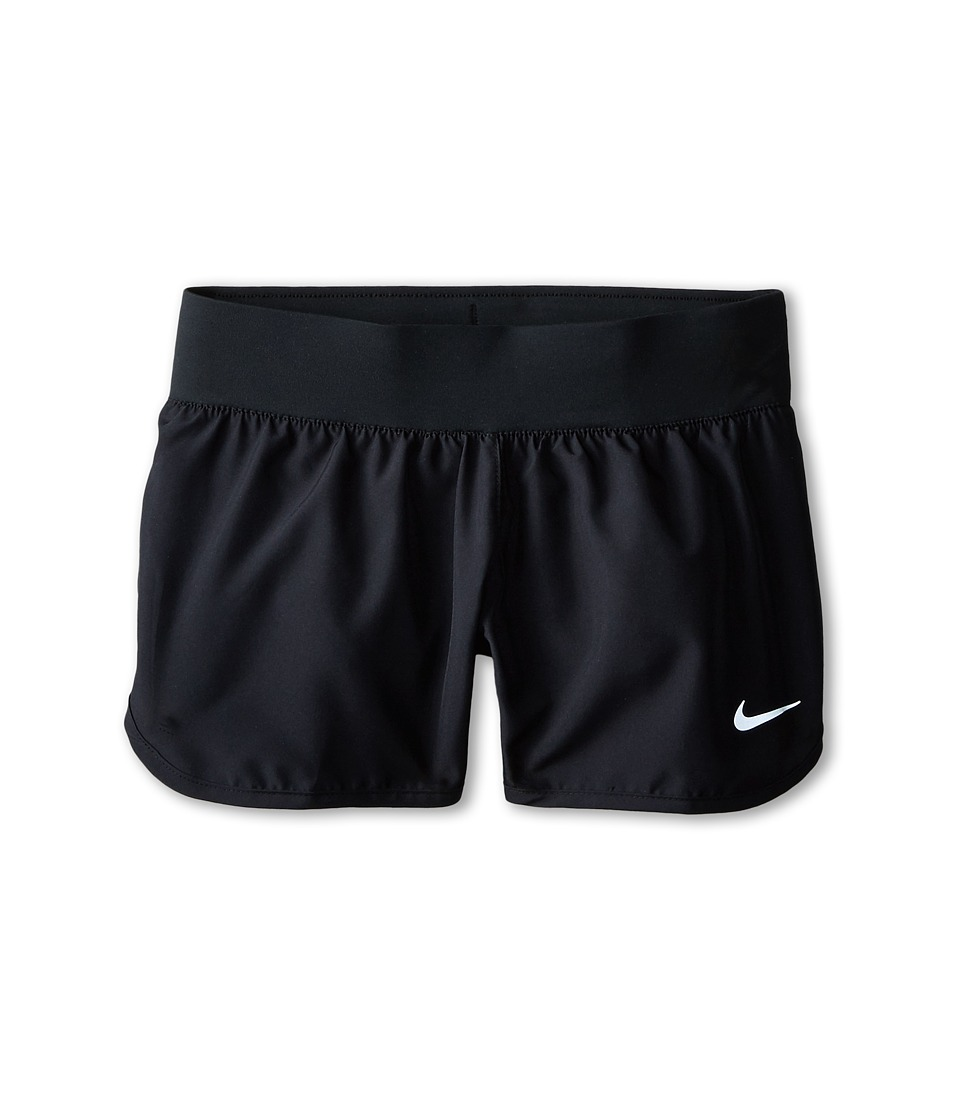 Nike Kids - Tempo Rival Short (Little Kids/Big Kids) (Black/Black/Black/Reflective Silver) Girl's Shorts