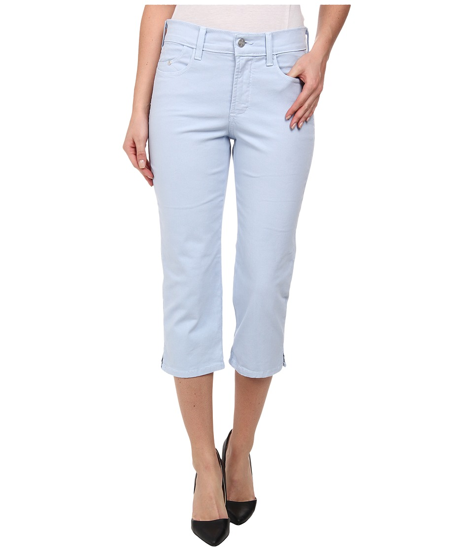 NYDJ - Ariel Crop - Twill (Bluebonnet) Women's Casual Pants
