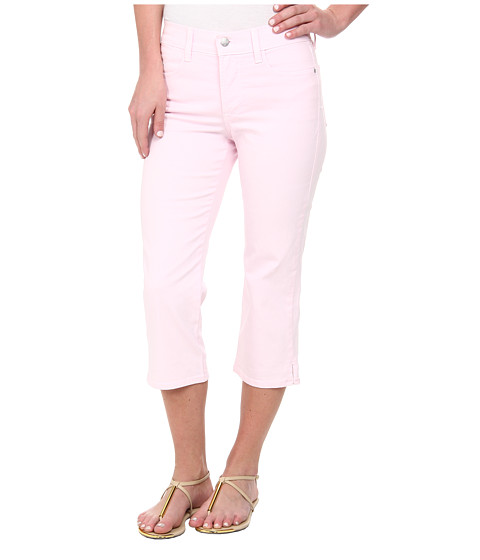 NYDJ - Ariel Crop - Twill (Posey Pink) Women's Casual Pants