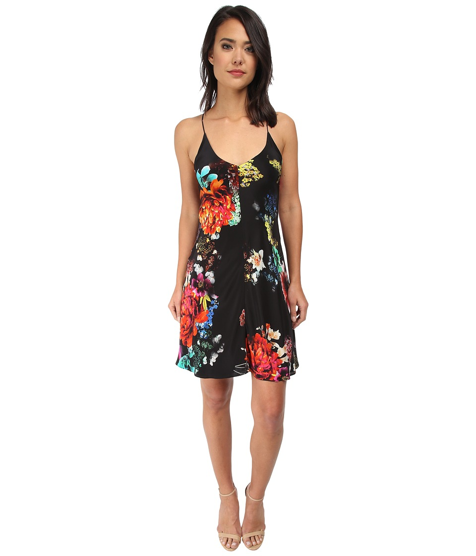 Amanda Uprichard - Bias X-Back Dress (Night Flower) Women's Dress