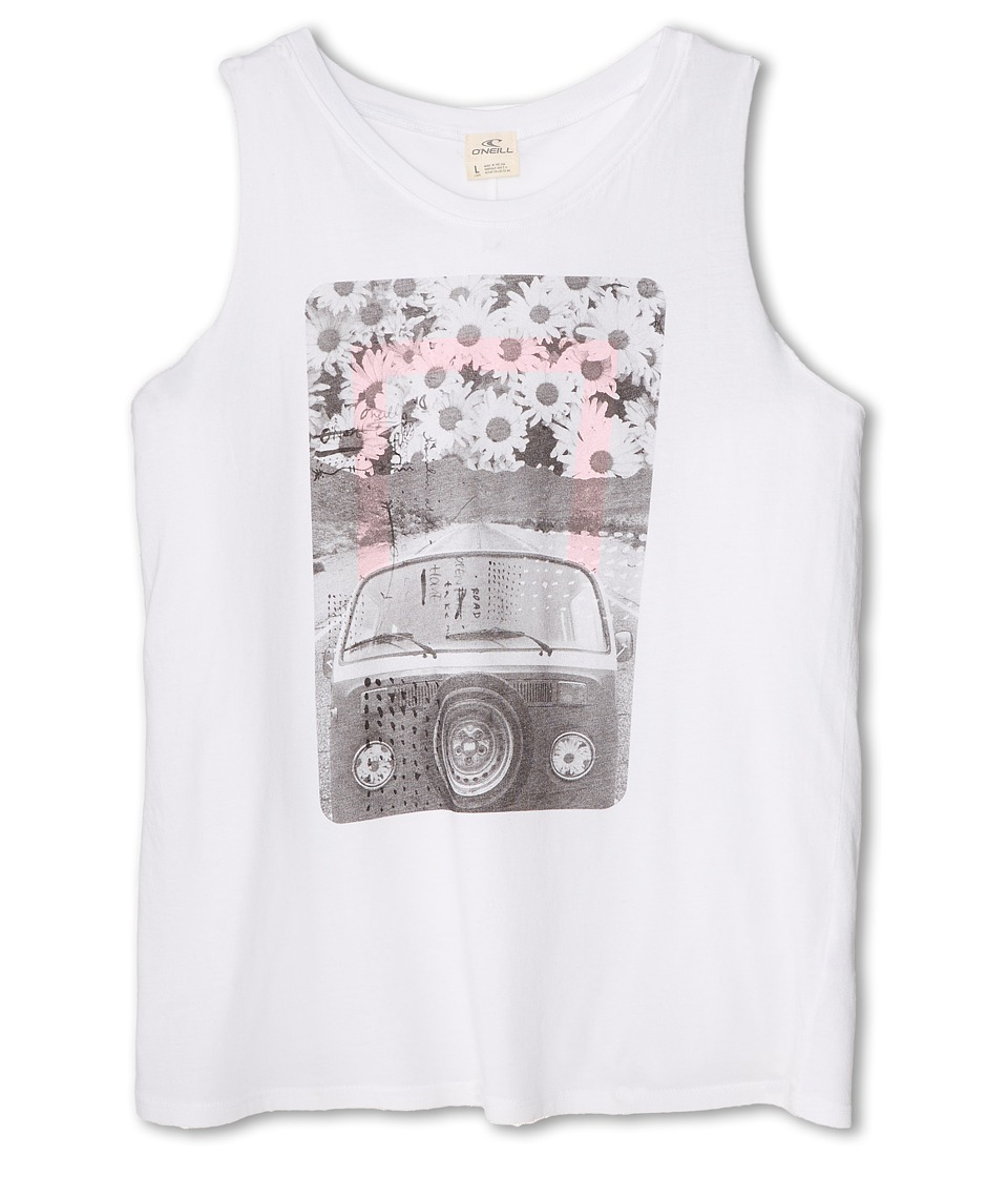 O'Neill Kids - VW Daisy Tank Top (Big Kids) (White) Girl's Sleeveless
