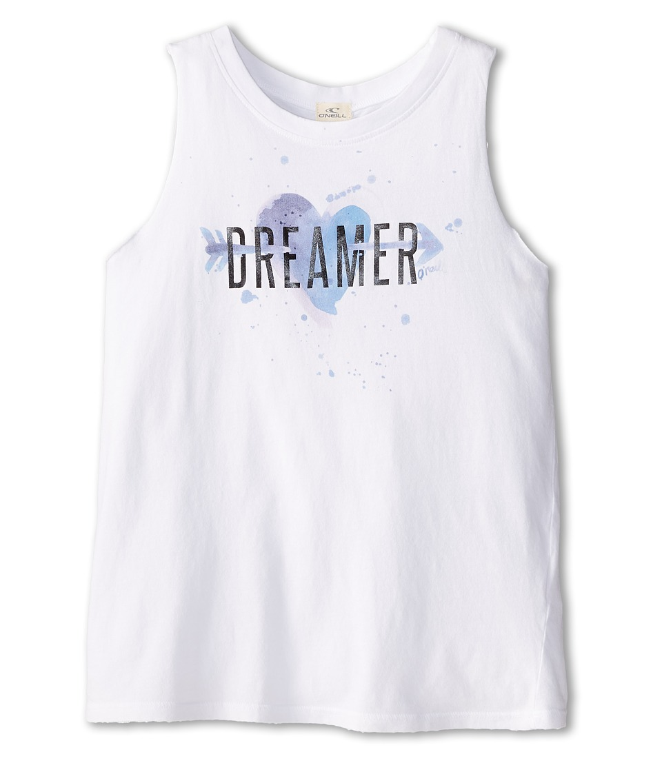 O'Neill Kids - Dreamer Tank Top (Big Kids) (White) Girl's Sleeveless