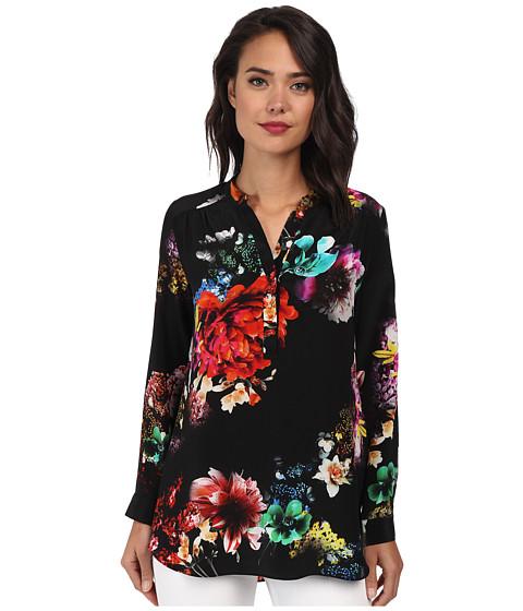 Amanda Uprichard - Graham Shirt (Night Flower) Women's Long Sleeve Pullover