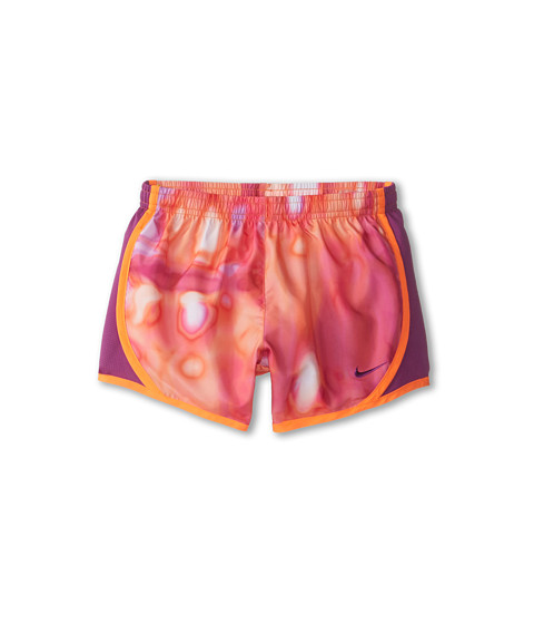 Nike Kids - Tempo AOP Short (Little Kids/Big Kids) (Total Orange/Bold Berry/Bold Berry) Girl