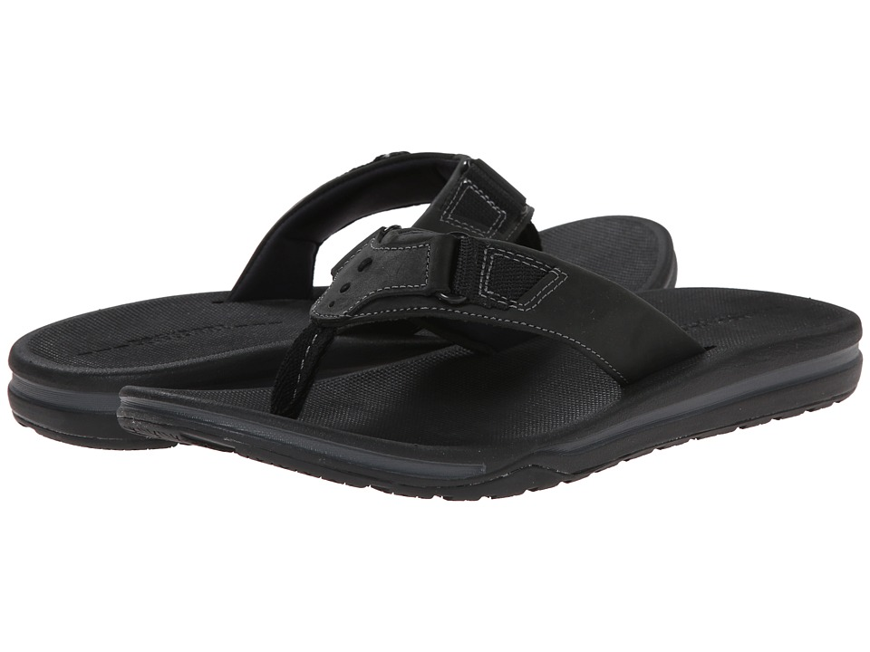 Rockport - Wear Anywhere Casual Thong (Black) Men's Sandals