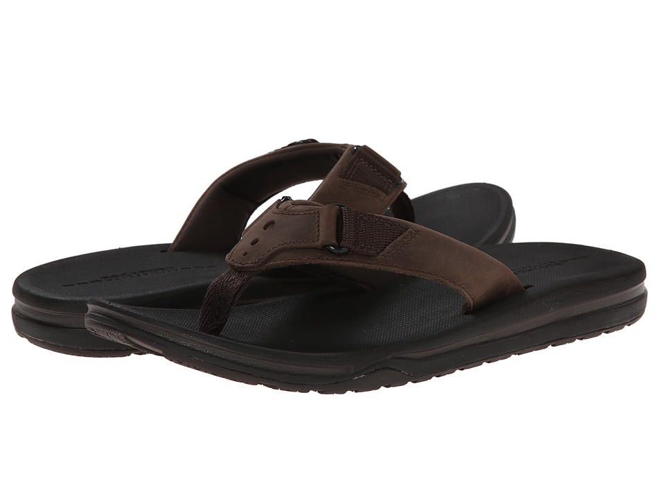 Rockport - Wear Anywhere Casual Thong (Medium Brown) Men