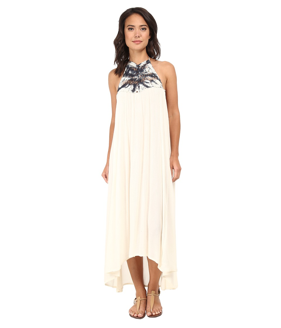 Billabong - Among the Stars Halter Dress (White Cap) Women