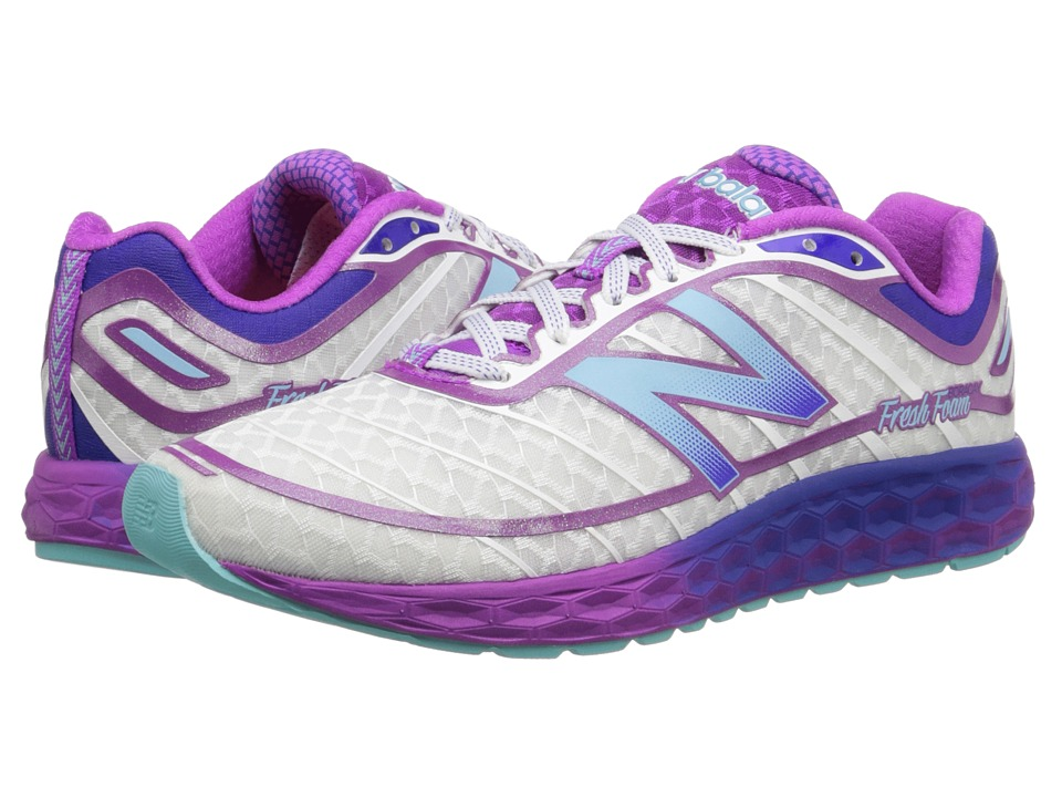 New Balance - Fresh Foam Boracay (White/Purple) Women's Running Shoes