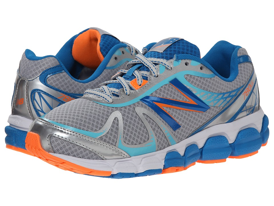 New Balance - 780V5 (Silver/Blue) Women's Running Shoes