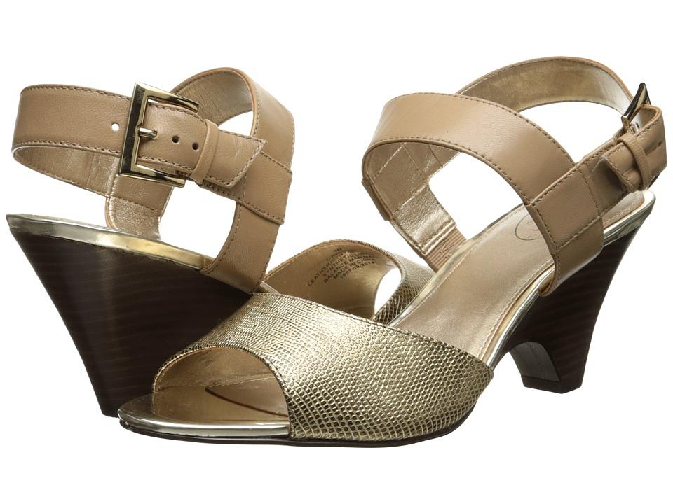 Circa Joan & David - Naylor (Gold Leather) High Heels