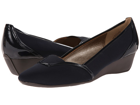 Circa Joan & David - Yevella (Navy Fabric) Women's Wedge Shoes