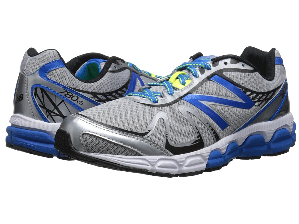 New Balance - M780V5 (Silver/Blue) Men's Running Shoes