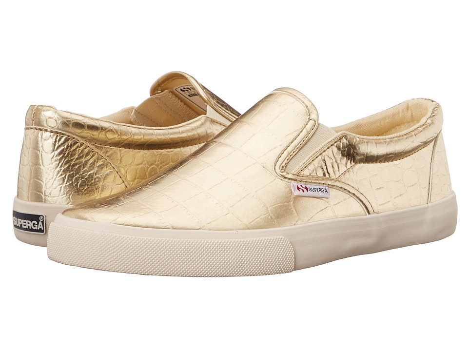Superga - 2311 Metcrocw (Gold) Women