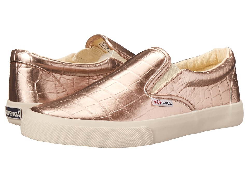 Superga - 2311 Metcrocw (Rose Gold) Women