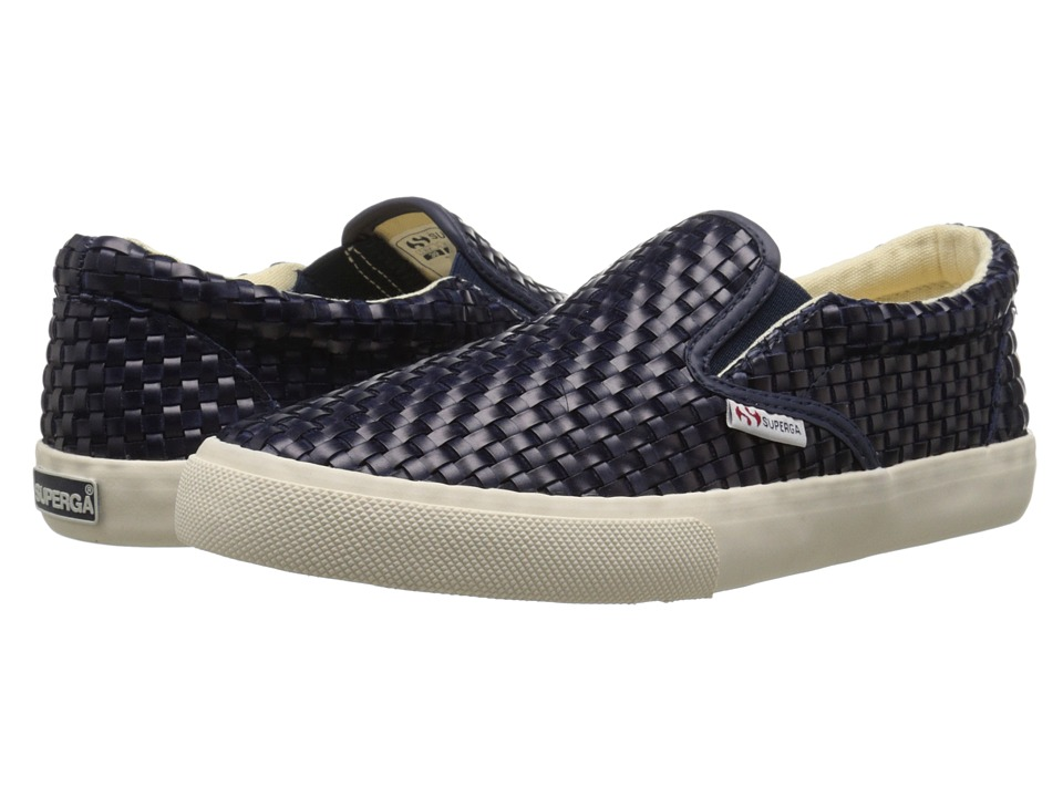 Superga - 2311 Wavedpuw (Navy) Women's Lace up casual Shoes