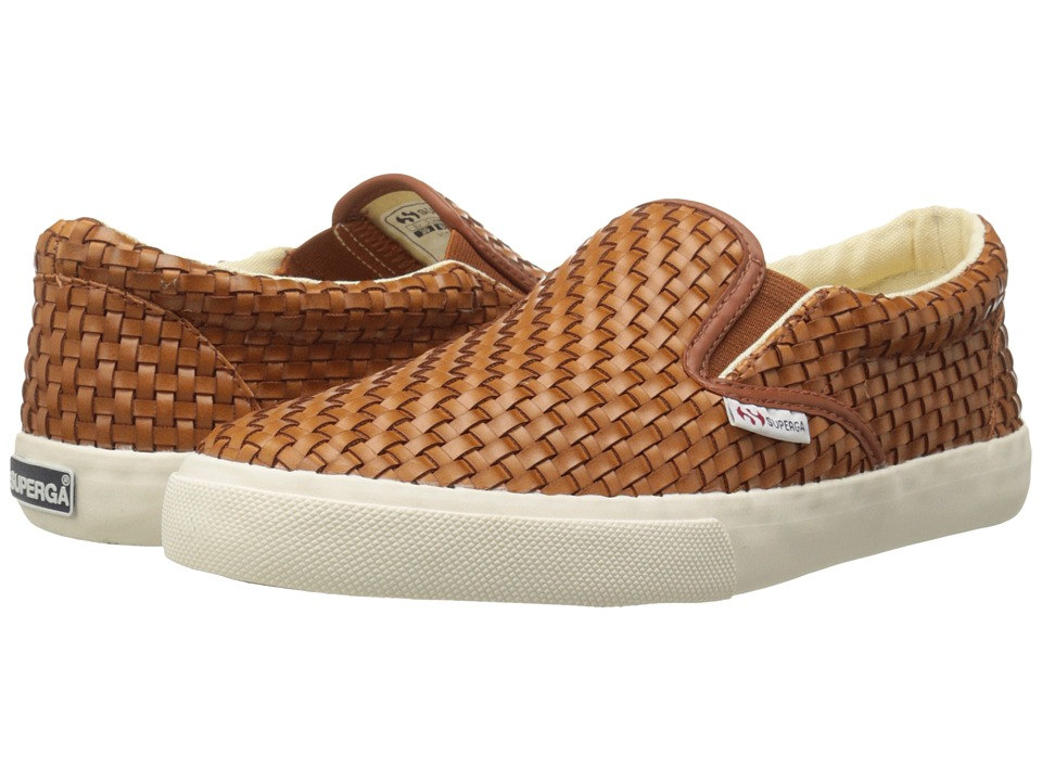 Superga - 2311 Wavedpuw (Cognac) Women