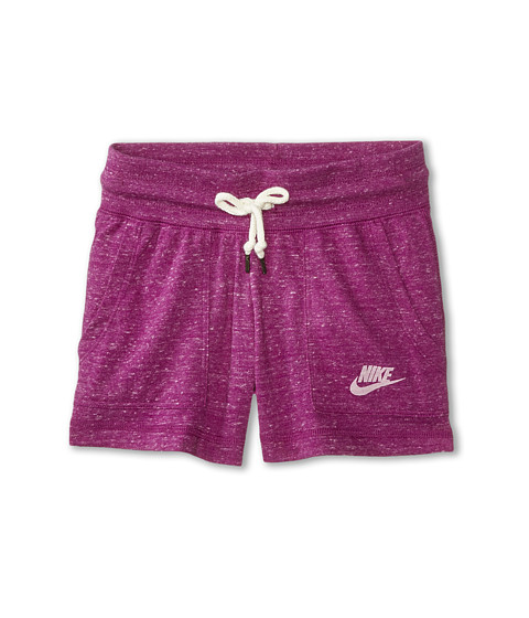 Nike Kids - Gym Vintage Short (Little Kids/Big Kids) (Bold Berry/Sail) Girl's Shorts